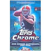2014 Topps Chrome Football Hobby Box