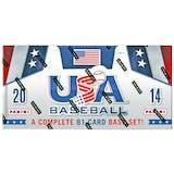 2014 Panini USA Baseball Hobby Box
