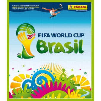 2014 Panini FIFA World Cup Soccer Sticker Pack