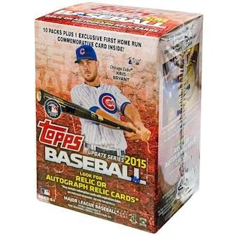 2015 Topps Update Baseball 10-Pack Blaster Box