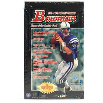 1998 Bowman Football Hobby Box