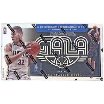 2015/16 Panini Gala Basketball Hobby Box