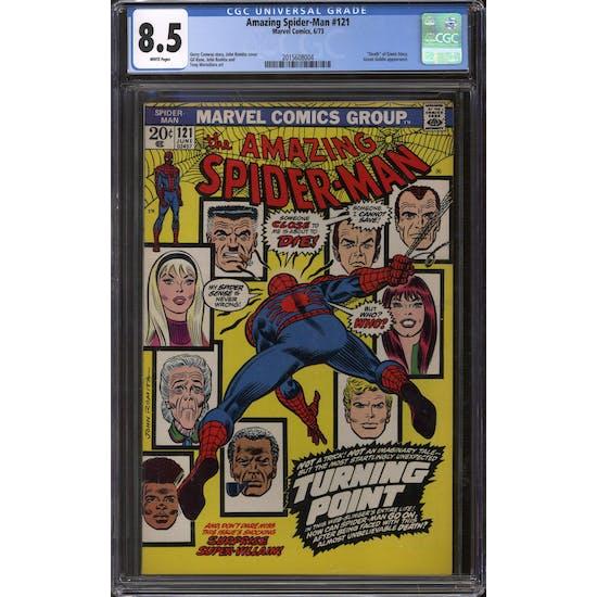Amazing Spider-Man #121 CGC 8.5 (W) *2015608004*