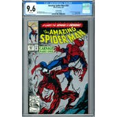 Amazing Spider-Man #361 CGC 9.6 (W) 2nd Printing *2015772014*