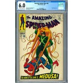 Amazing Spider-Man #62 CGC 6.0 (OW-W) *2015799010*