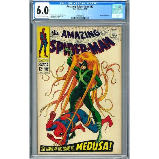 Amazing Spider-Man #62 CGC 6.0 (OW-W) *2015799010*
