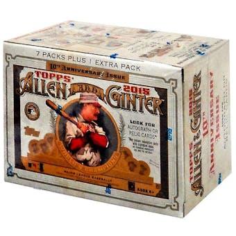 2015 Topps Allen & Ginter Baseball 8-Pack Box