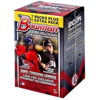 2015 Bowman Baseball 8-Pack Box