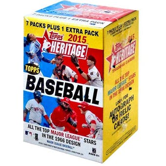 2015 Topps Heritage Baseball 8-Pack Box