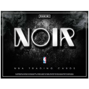 2014/15 Panini Noir Basketball Hobby Box
