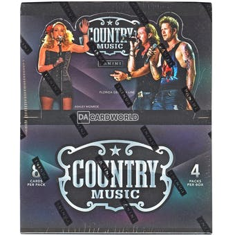 2014 Panini Country Music Hobby Box