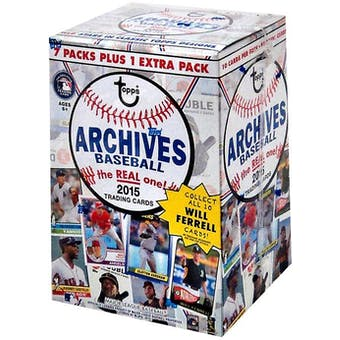 2015 Topps Archives Baseball 8-Pack Box