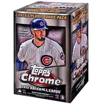 2015 Topps Chrome Baseball 8-Pack Box
