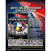2015 Topps Baseball MLB Sticker Collection Pack