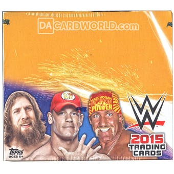 2015 Topps WWE Wrestling Hobby Box