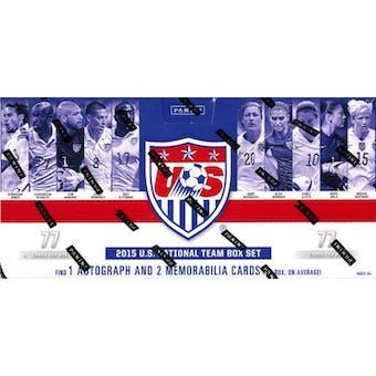2015 Panini U.S. National Team Soccer Hobby Box (Set)