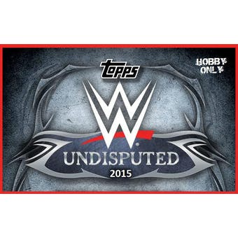 2015 Topps WWE Undisputed Wrestling Hobby Box