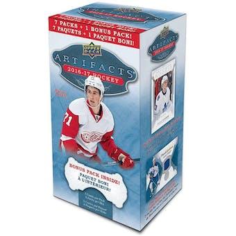 2016/17 Upper Deck Artifacts Hockey 8-Pack Blaster Box