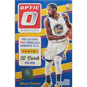 2016/17 Panini Donruss Optic Basketball Hanger Box