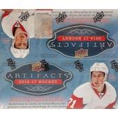 2016/17 Upper Deck Artifacts Hockey 24-Pack Box