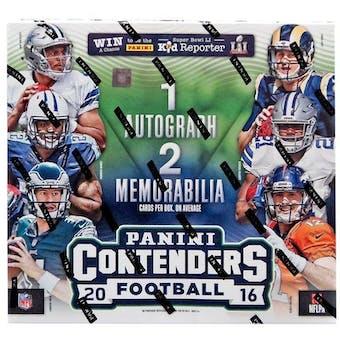 2016 Panini Contenders Football 24-Pack Box