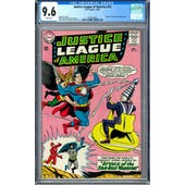Justice League of America #32 CGC 9.6 (W) *2016520003*