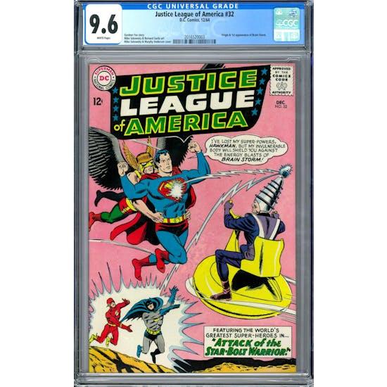Justice League of America #32 CGC 9.6 (W) *2016520003*