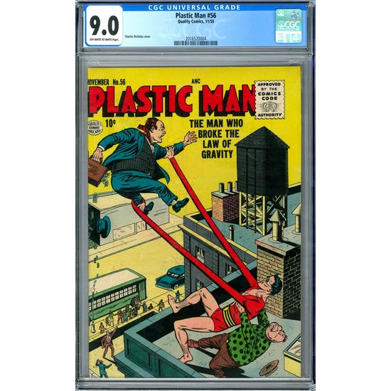 Plastic Man #56 CGC 9.0 (OW-W) *2016520004*