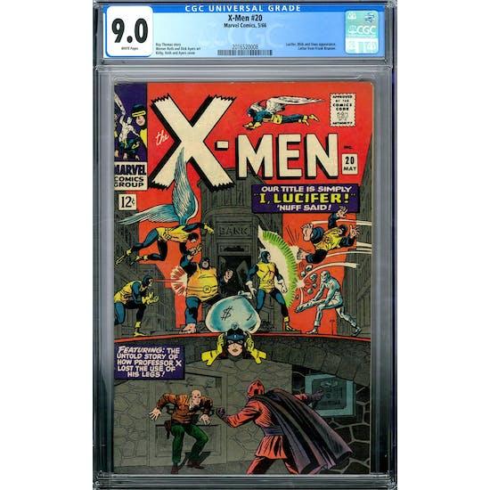 X-Men #20 CGC 9.0 (W) *2016520008*