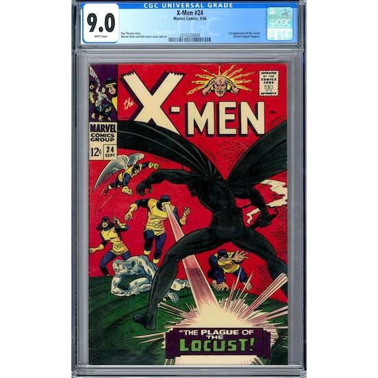 X-Men #24 CGC 9.0 (W) *2016520009*