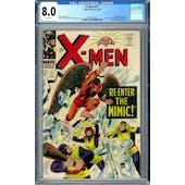 X-Men #27 CGC 8.0 (W) *2016520010*