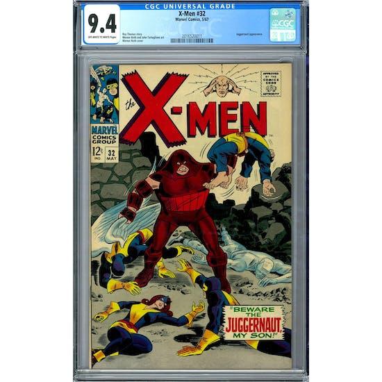 X-Men #32 CGC 9.4 (OW-W) *2016520011*