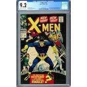 X-Men #39 CGC 9.2 (OW-W) *2016520012*