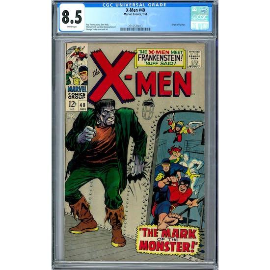 X-Men #40 CGC 8.5 (W) *2016520013*