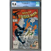 Web of Spider-Man #36 CGC 9.4 (W) *2016540008*