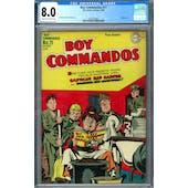 Boy Commandos #11 CGC 8.0 (C-OW) *2016542003*