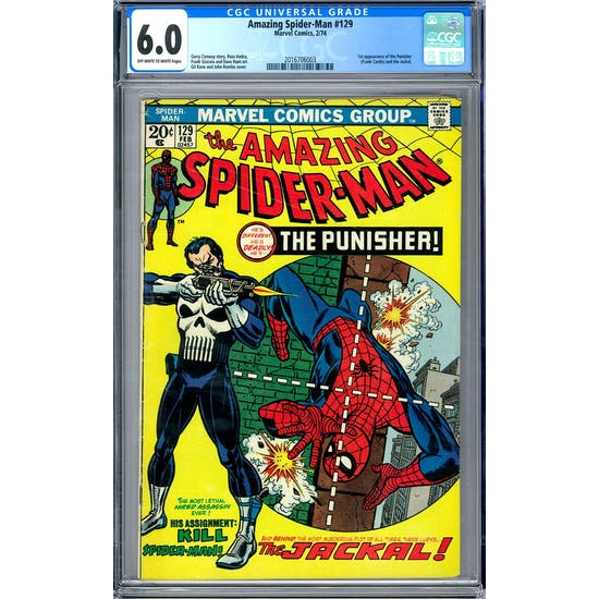 Amazing Spider-Man #129 CGC 6.0 (OW-W) *2016706003*