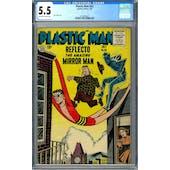Plastic Man #63 CGC 5.5 (OW-W) *2016892007*