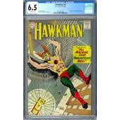 Hawkman #4 CGC 6.5 (OW) *2016892009*