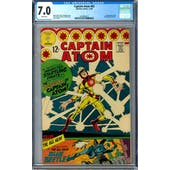 Captain Atom #83 CGC 7.0 (W) *2016892012*