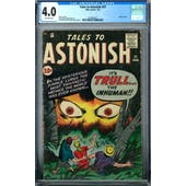 Tales to Astonish #21 CGC 4.0 (OW) *2016892017*