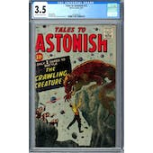Tales to Astonish #22 CGC 3.5 (OW-W) *2016892018*