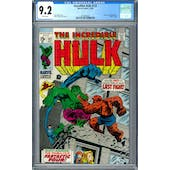 Incredible Hulk #122 CGC 9.2 (W) *2016892024*