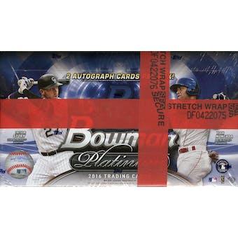 2016 Bowman Platinum Baseball Hobby Box