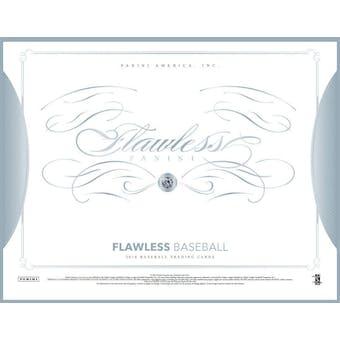 2016 Panini Flawless Baseball Hobby 2-Box Case