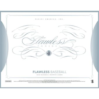 2016 Panini Flawless Baseball Hobby 2-Box Case