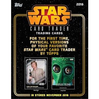 Star Wars Card Trader Hobby Pack (Topps 2016)