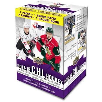 2017/18 Upper Deck CHL Prospects Hockey Blaster Box