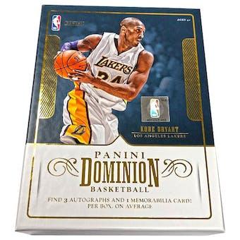2017/18 Panini Dominion Basketball Hobby Box