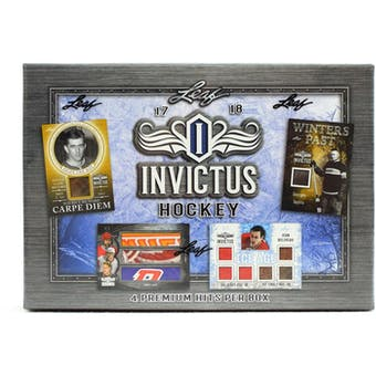 2017/18 Leaf Invictus Hockey Hobby Box